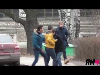 ������� ����� / Beating on the Street Prank (Not Vine)