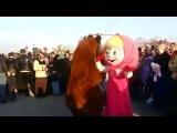 Маша и медведь в Махачкале ))